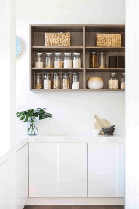 Kitchen Renovation Clutter